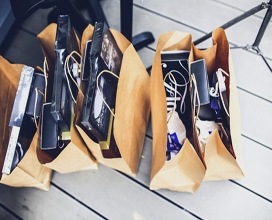 Do the weekly groceries, buy and deliver some flowers or chocolate, find a gift (Christmas, birthdays…)